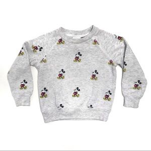Disney   Grey Mickey Mouse Sweatshirt